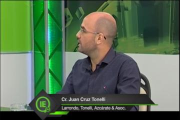 Participación del Cr. Juan Cruz Tonelli en Impacto Económico