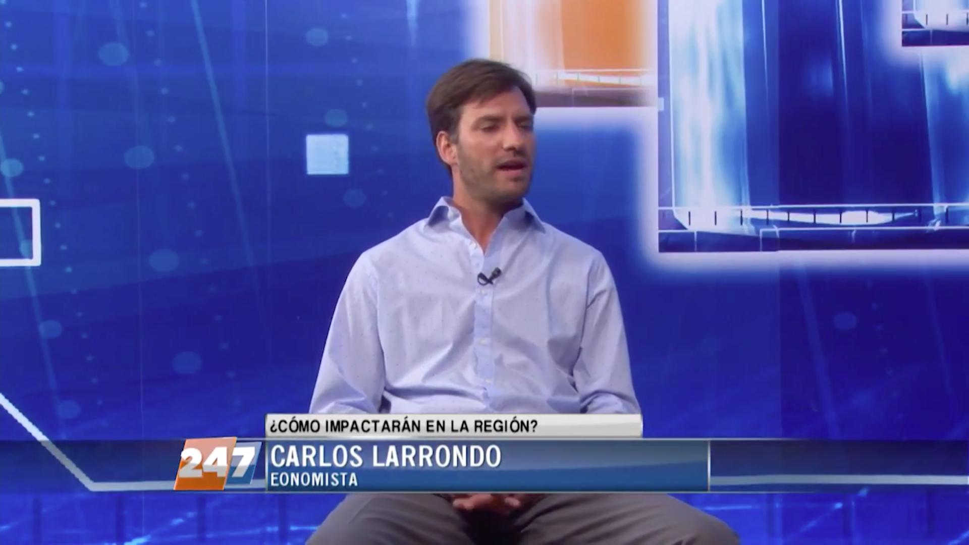 Entrevista en Noticiero Central de 24/7 Canal de Noticias